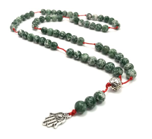Jade string chain