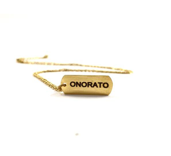Onorato arany acél lánc