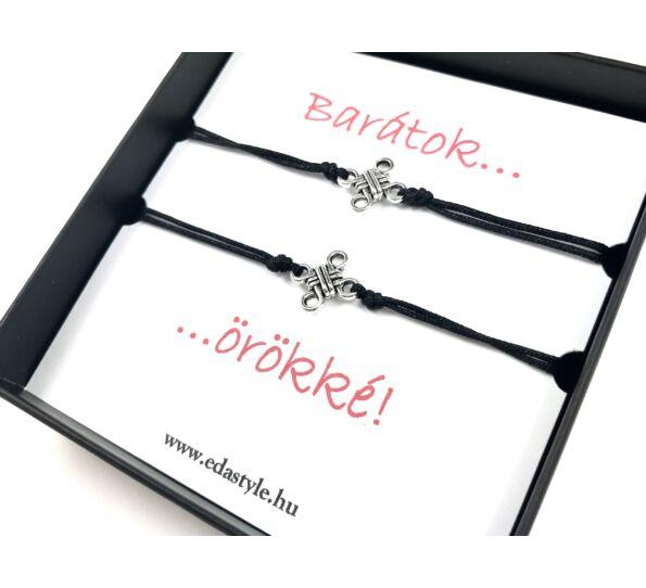 Best friends bracelets black