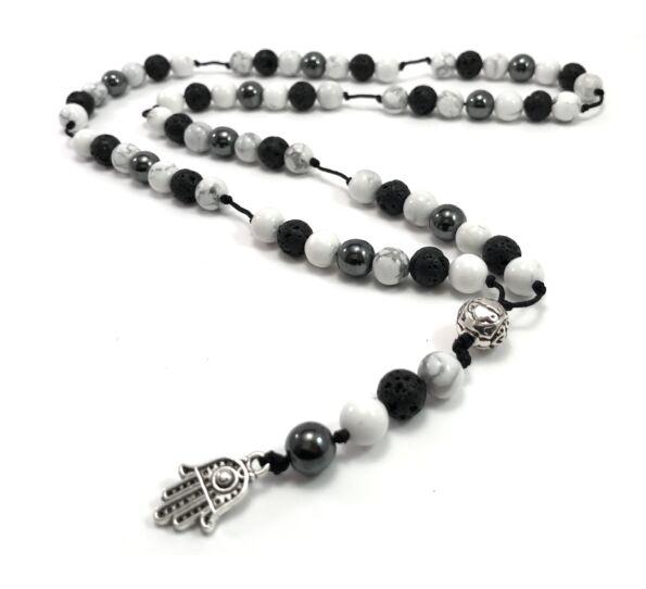 Howlite string chain