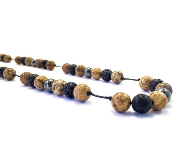 Jaspis necklace