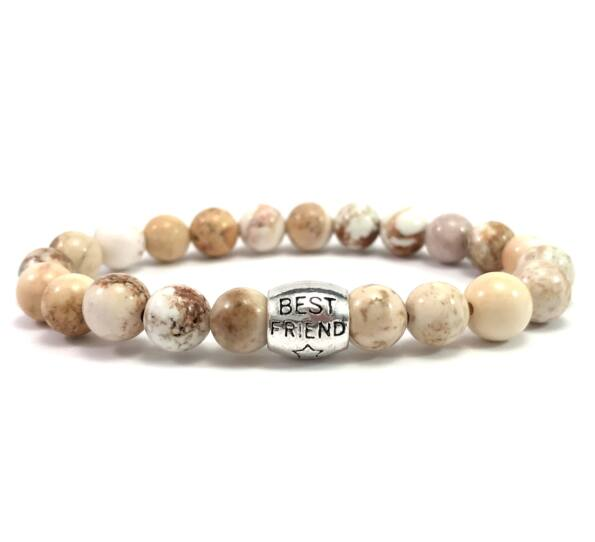 Jasper best friend bracelet