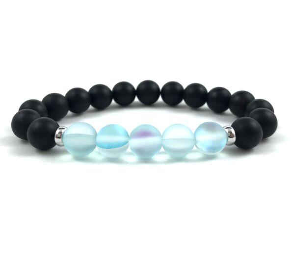 Bule moonstone beats bracelet
