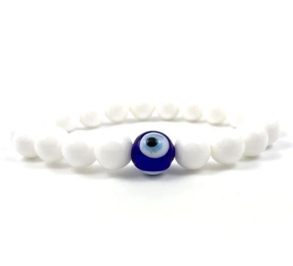 Nacre nazar's eye bracelet