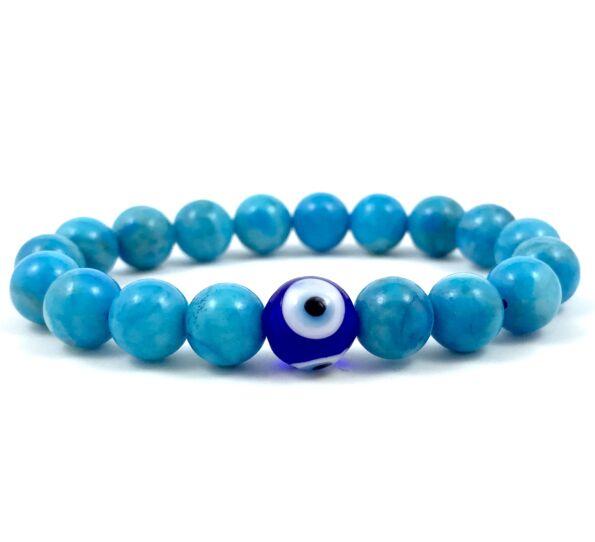 Turquoise nazar's eye bracelet
