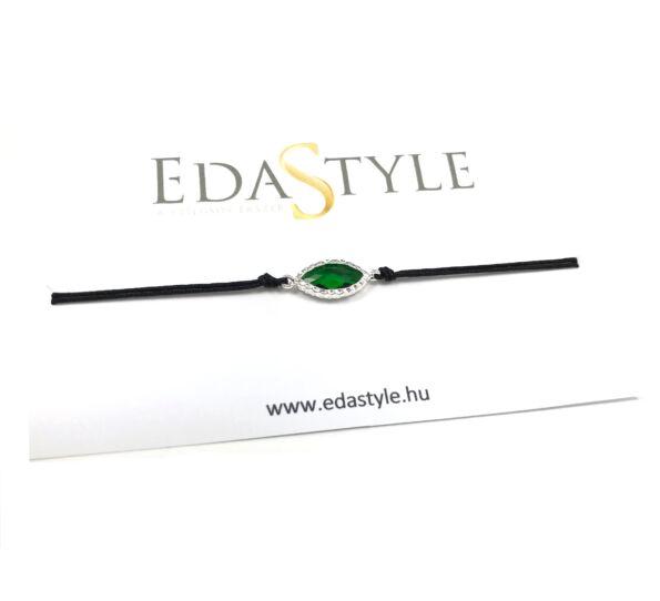 Green crystal bracelet