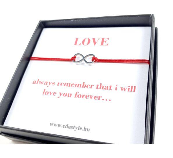 Forever love bracelet