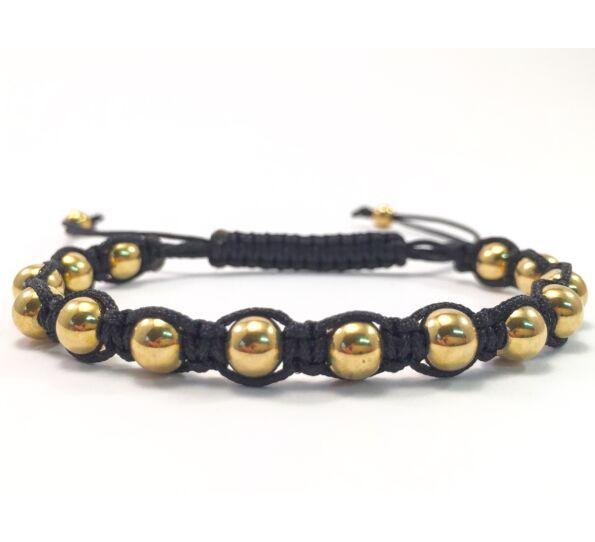 Luxury arany cord karkötő