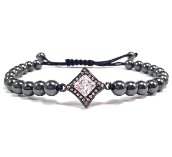Luxury titán stony cord bracelet