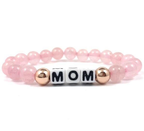 Rosequarcz Mom bracelet